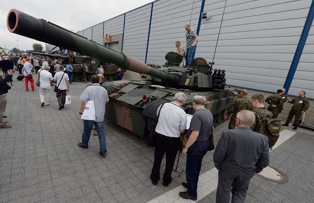Polskie uzbrojenie na targach /AFP