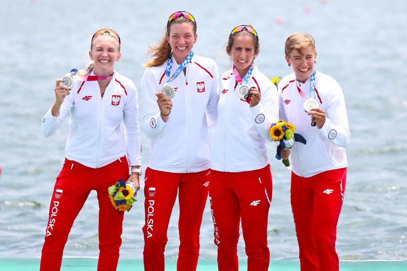 Polskie wioślarki zdobyły srebrny medal Igrzysk Olimpijskich w Tokio /PAWEL RELIKOWSKI / POLSKA PRESS/Polska Press/East News /East News