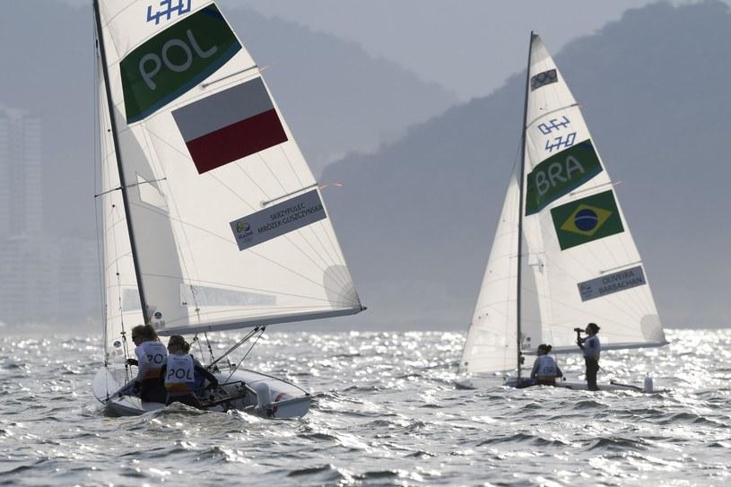 Polskie żeglarki (z lewej) /Fotoarena /East News