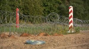 Polsko-białoruska granica. Migranci dostają SMS-y z ostrzeżeniem