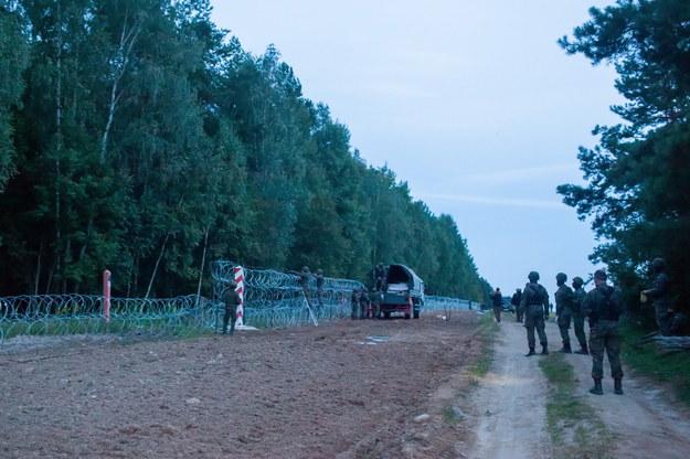 Polsko-białoruska granica /Marcin Onufryjuk /PAP