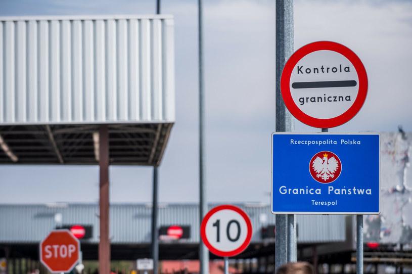 Polsko-białoruskie przejście graniczne, zdjęcie ilustracyjne /Marcin Bruniecki/ Reporter /Reporter