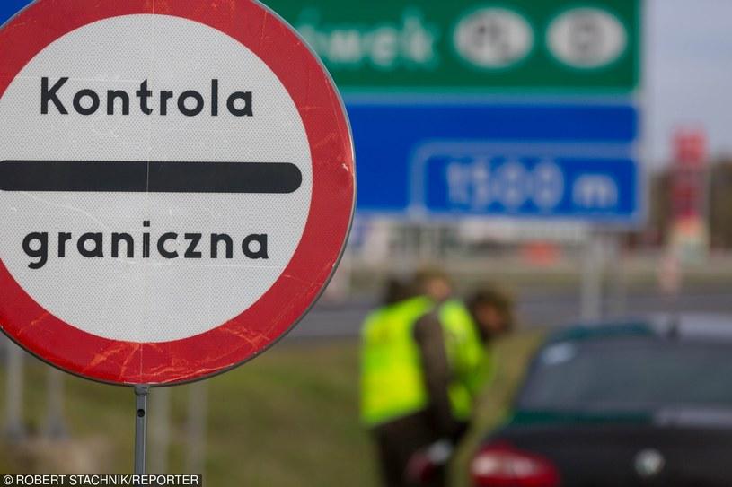 Polsko-niemieckie przejście graniczne /Reporter