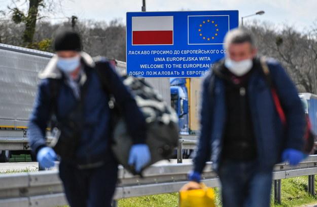 Polsko-ukraińskie przejście graniczne w Dorohusku na zdjęciu ilustracyjnym /Wojtek Jargiło /PAP