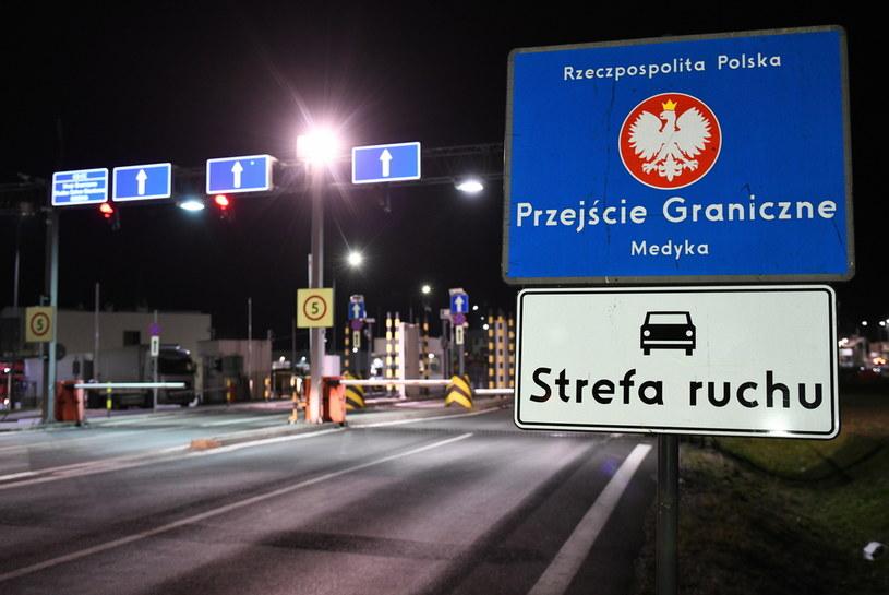 Polsko-ukraińskie przejście graniczne w Medyce /Darek Delmanowicz /PAP
