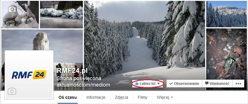 Polub nasz profil na Facebooku! /RMF FM