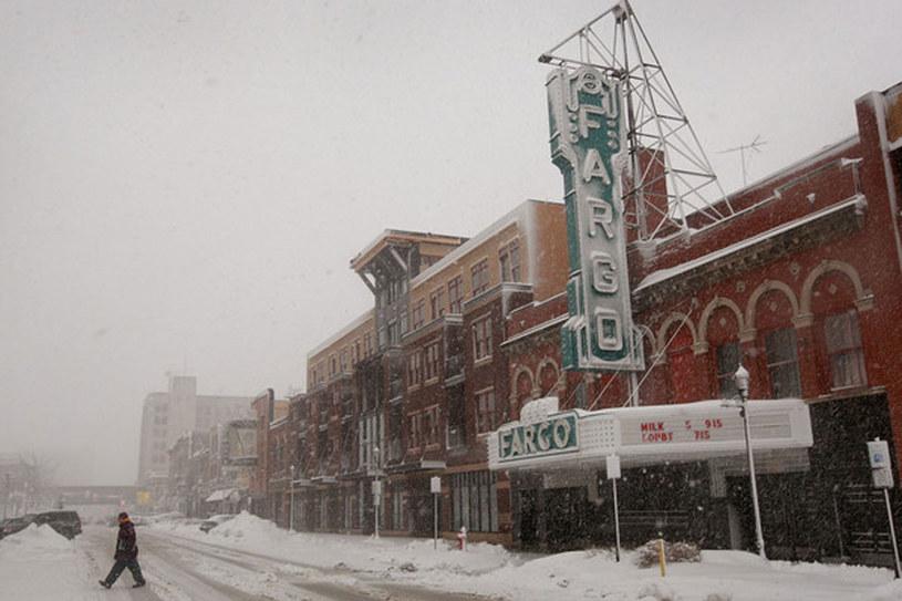 Południowa Dakota pod śniegiem /AFP