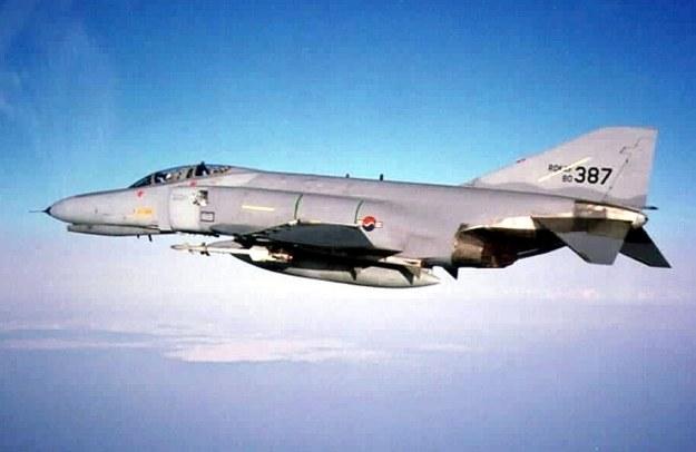 Południowokoreański F-4E /AFP