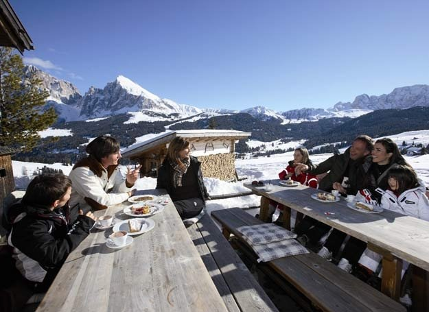 Południowy Tyrol jest spełnieniem snu narciarza sybaryty - mówi Tomasz Prange-Barczyński /materiały prasowe