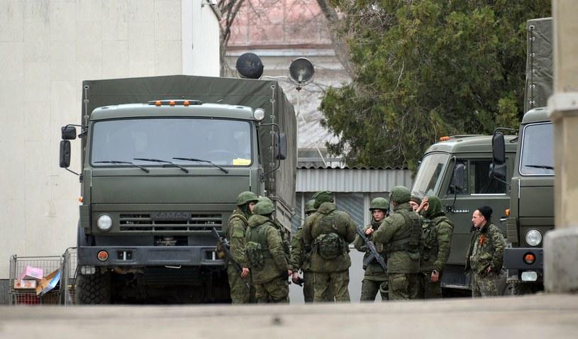 Półwysep Krymski, należący do Ukrainy, może stać się zarzewiem kolejnego konfliktu militarnego. /AFP