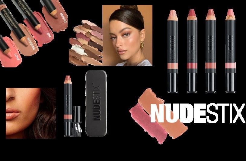 Pomadka Nudestix Lip + Cheek Pencil 2W1 /materiały prasowe