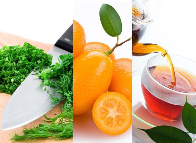 Pomarańcza, koper i herbata. Co im możesz zawdzięczać? /123RF/PICSEL