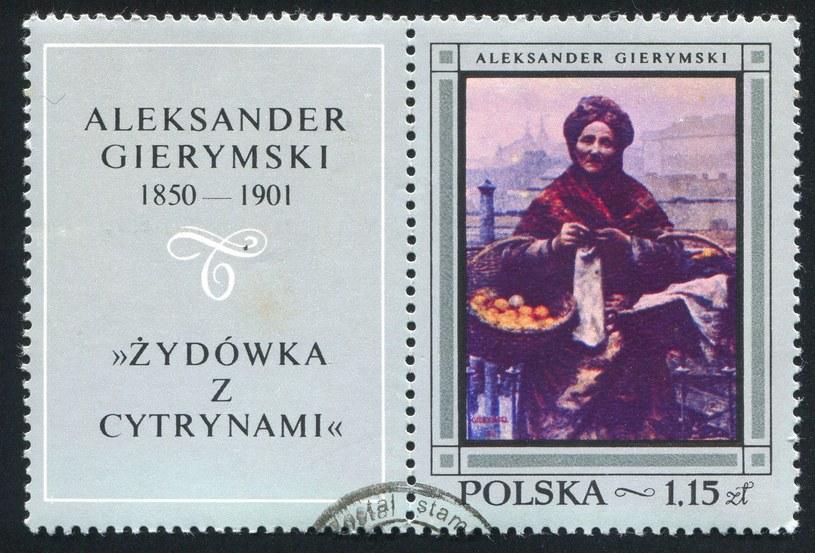 """""""Pomarańczarka"""" odnalazła się w Niemczech. Na zdjęciu znaczek z 19968 roku z reprodukcją obrazu /123RF/PICSEL"""