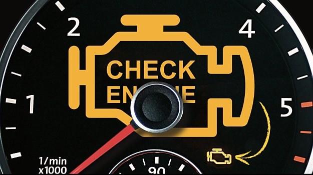 Pomarańczowa kontrolka to tylko stan ostrzegawczy i nie wyklucza dalszej jazdy. /Motor
