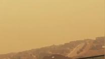 Pomarańczowe miasto w Kanadzie. Gęsty dym z pożarów lasów zagraża mieszkańcom