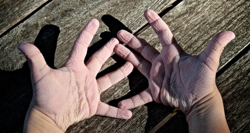 pomarszczone dłonie /© Photogenica