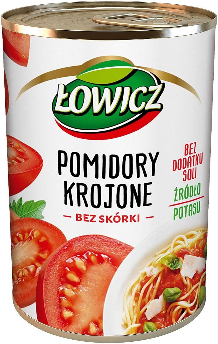 Pomidory Łowicz krojone /Styl.pl/materiały prasowe
