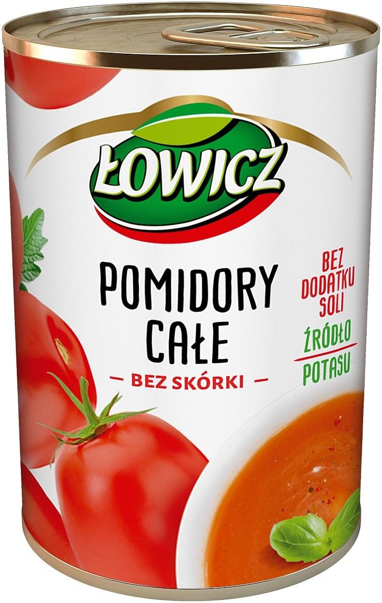 Pomidory Łowicz w puszce /materiały prasowe
