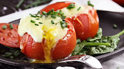 Pomidory nadziewane pastą z awokado