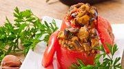 Pomidory z bakłażanem
