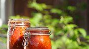 Pomidory z natką i bazylią