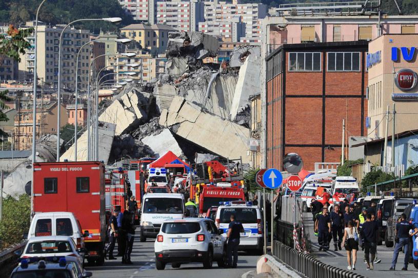Pomimo akcji ratunkowych w tragedii zginęły 43 osoby /AFP /East News
