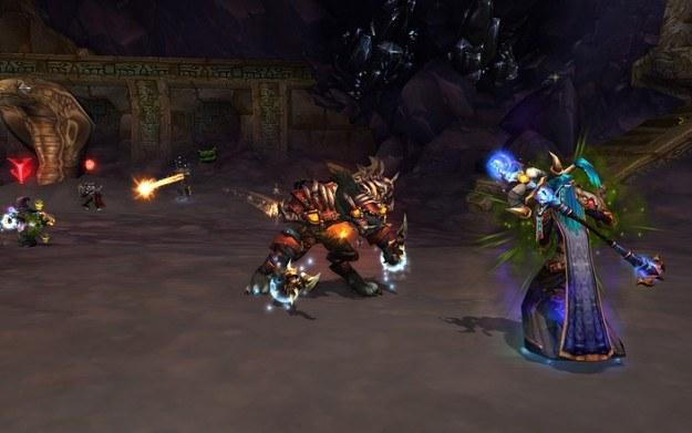 Pomimo starego silnika graficznego World of Warcraft nadal cieszy się ogromną popularnością /Informacja prasowa