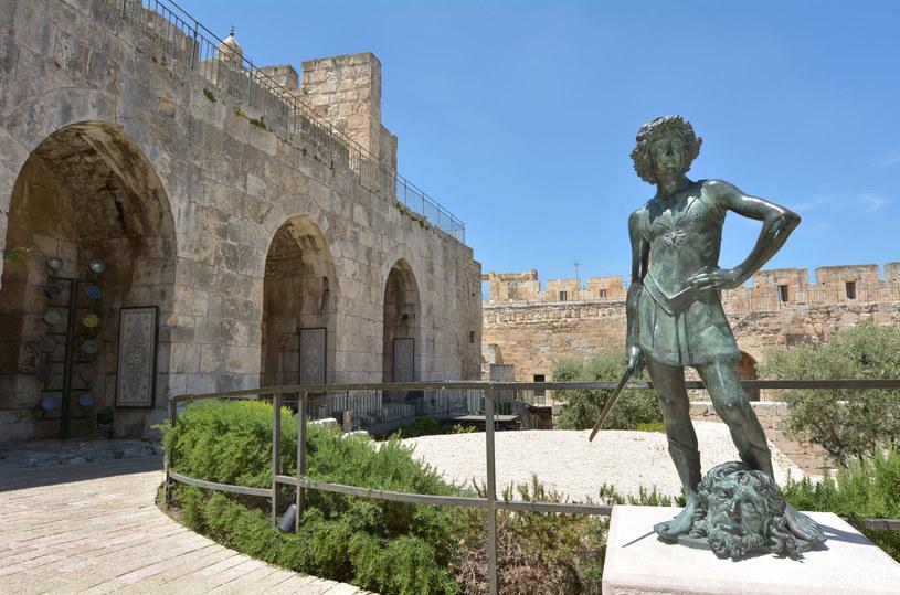 Pomnik Dawida pokonującego Goliata w Jeruzalem /123RF/PICSEL