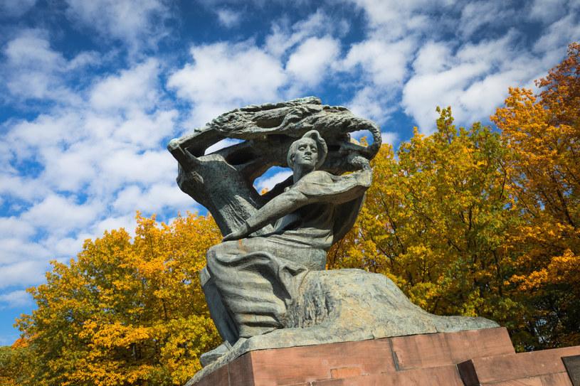 Pomnik Fryderyka Chopina /Arkadiusz Ziółek /East News