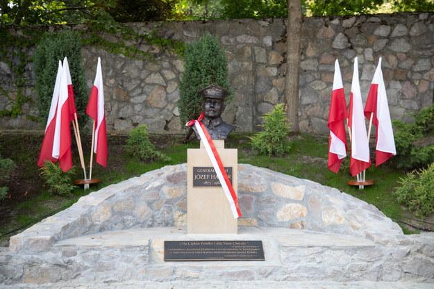 Pomnik generała broni Józefa Hallera /Jacek Bednarczyk   /PAP