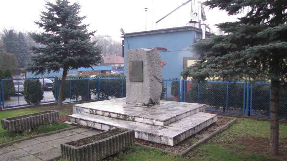 Pomnik Ignacego Łukasiewicza /RMF FM