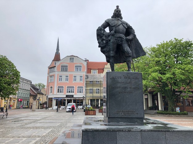 Pomnik Jakuba Wejhera /Kuba Kaługa /RMF FM