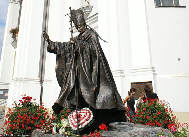 Pomnik Jana Pawła II w Wadowicach /Marianna Osko /East News