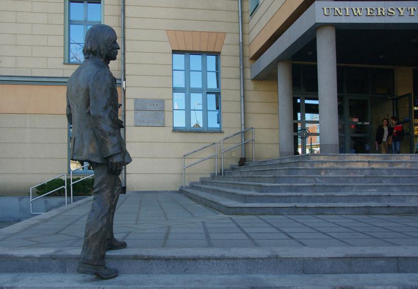 Pomnik Jonasza Kofty w Opolu /Marek Bazak /East News