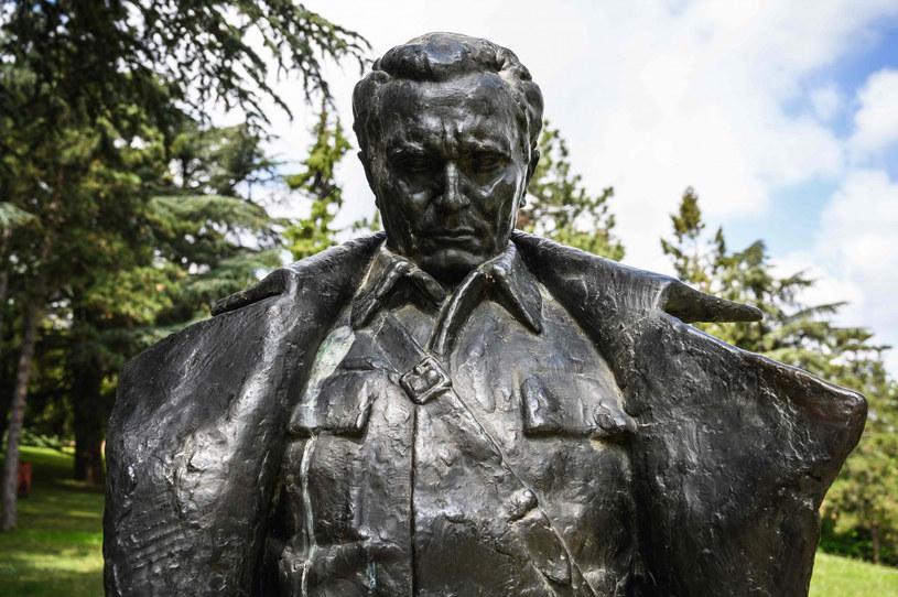 Pomnik Josipa Tito na terenie Muzeum Historii Jugosławii w Belgradzie /ANDREJ ISAKOVIC /East News