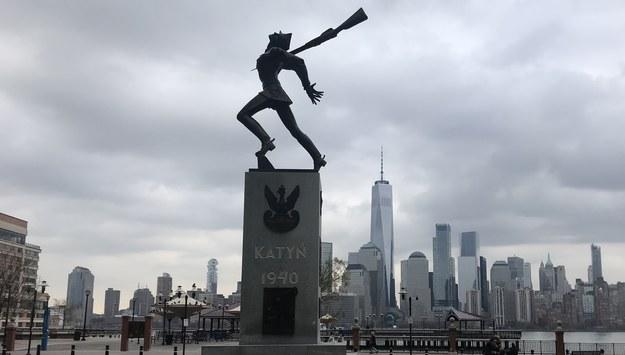 Pomnik Katyński w Jersey City /Paweł Żuchowski /RMF FM