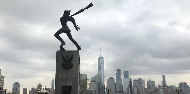 Pomnik Katyński ws. Jersey City /Paweł Żuchowski /RMF FM