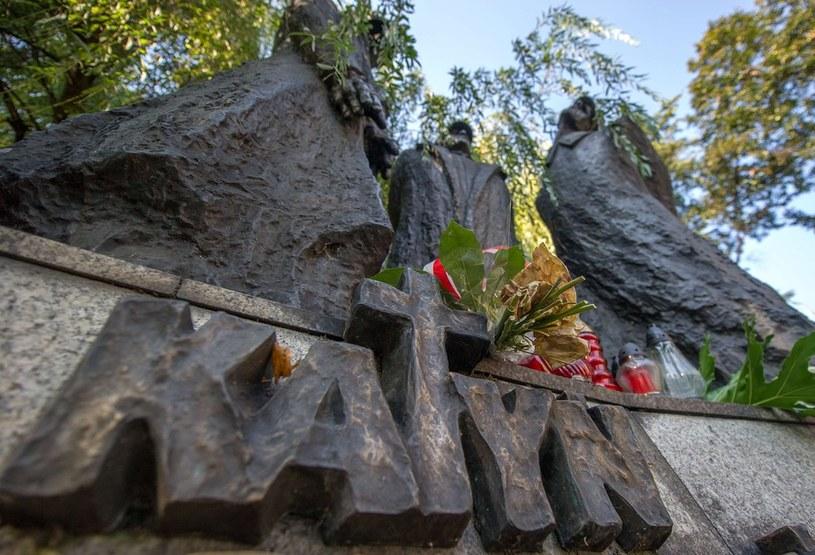 Pomnik katyński /AFP