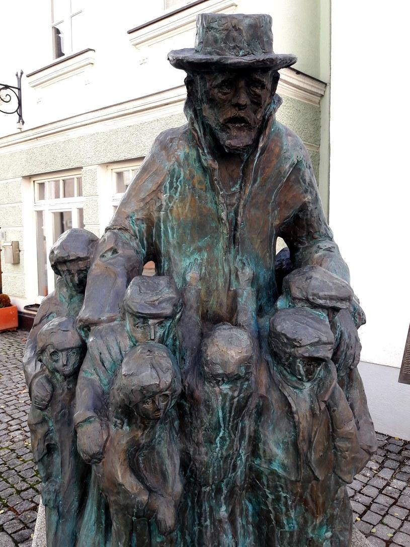 Pomnik Korczaka w Guenzburgu. Fot. Jacek Lepiarz /Deutsche Welle