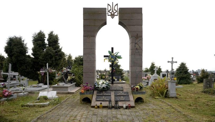 Pomnik ku czci UPA jeszcze przed rozbiórką /Darek Delmanowicz /PAP