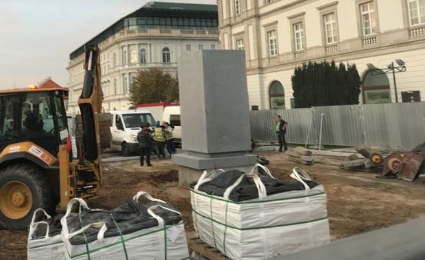 Pomnik Lecha Kaczyńskiego w Warszawie większy niż Józefa Piłsudskiego?