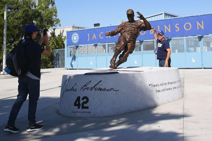 Pomnik legendarnego Jackiego Robinsona /AFP