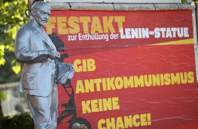 Pomnik Lenina w Gelsenkirchen /PAP/EPA/FRIEDEMANN VOGEL /