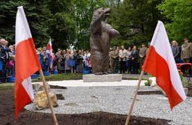 Pomnik niedźwiedzia Wojtka