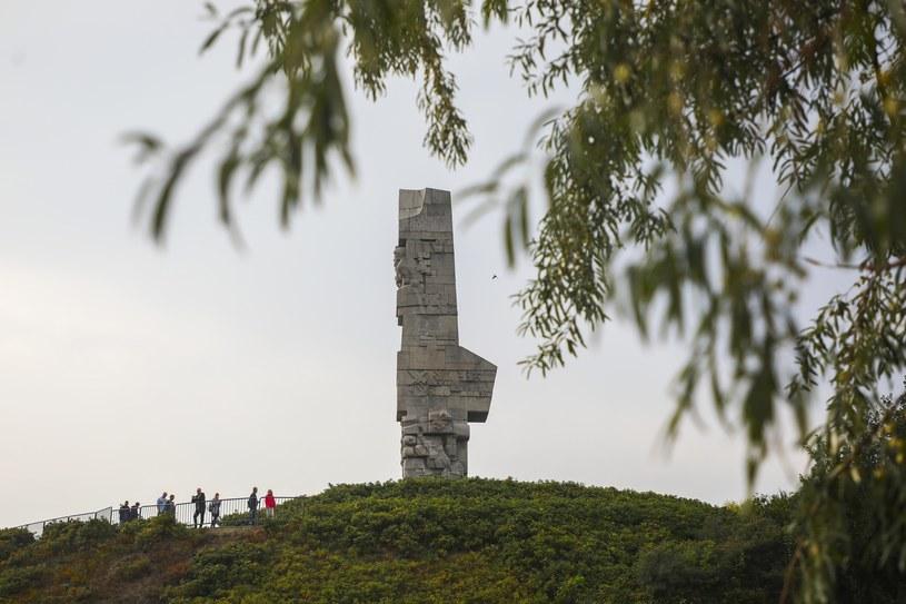 Pomnik Obrońców Wybrzeża na półwyspie Westerplatte /Beata Zawrzel /PAP