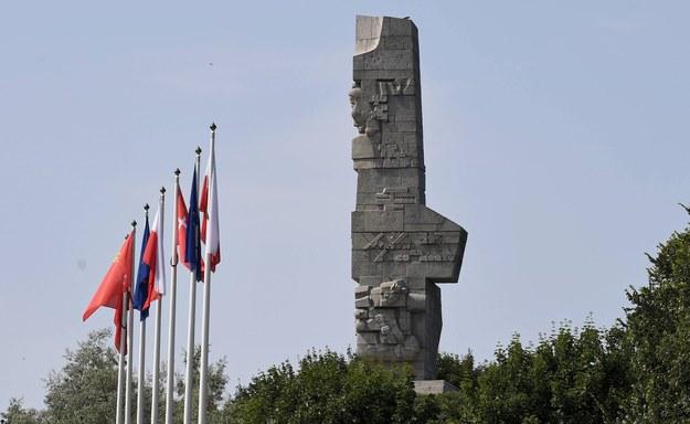 Pomnik Obrońców Wybrzeża na Westerplatte w Gdańsku /Marcin Gadomski /PAP