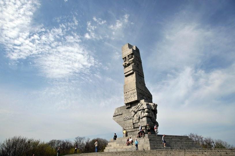 Pomnik Obrońców Wybrzeża na Westerplatte /Wojciech Stróżyk /Reporter