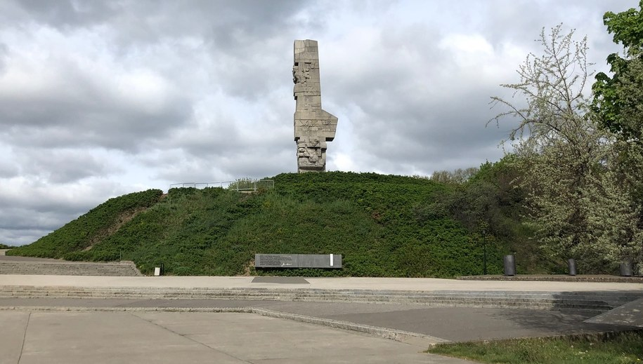 Pomnik Obrońców Wybrzeża na Westerplatte. /Kuba Kaługa /RMF FM