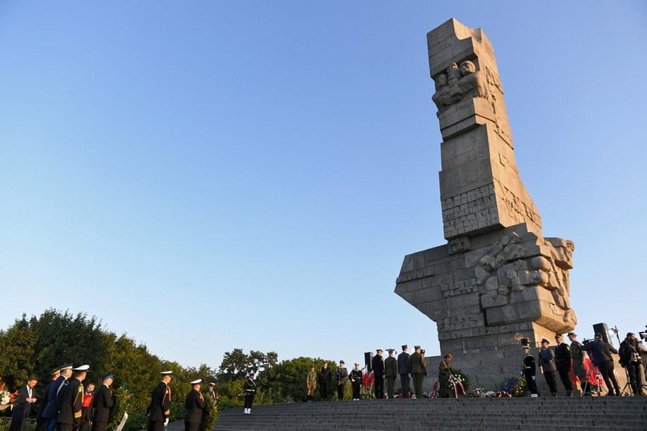 Pomnik Obrońców Wybrzeża na Westerplatte / Adam Warżawa    /PAP