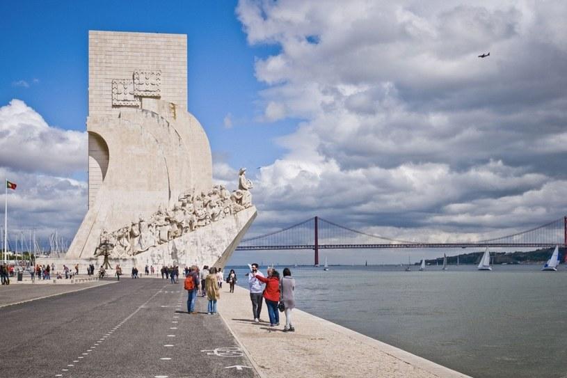Pomnik Odkrywców w Belem - zachodniej dzielnicy Lizbony /123RF/PICSEL
